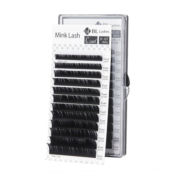 Mink Eyelashes Mixed Length Mink Lashes Qbs